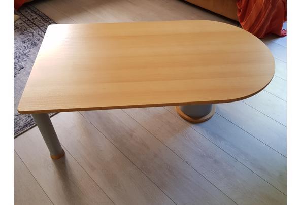 Salon tafel van beukenhout - 20190723_164757