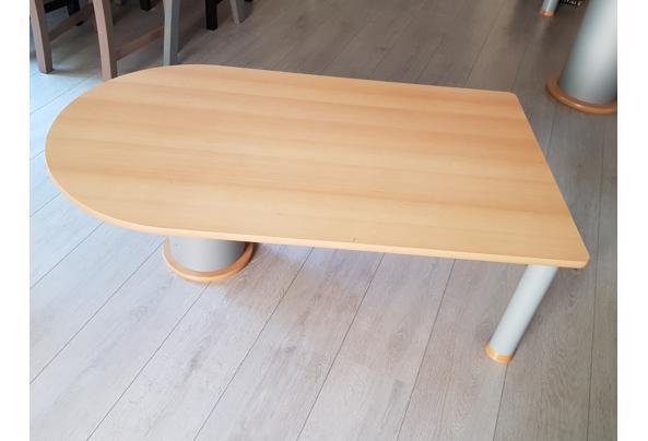 Salon tafel van beukenhout - 20190723_164855
