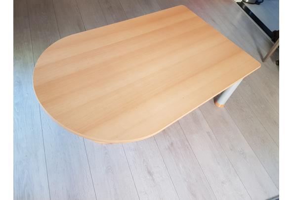 Salon tafel van beukenhout - 20190723_164923