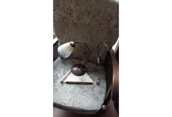 Tafellamp met messing en glas - IMG-20210508-WA0033