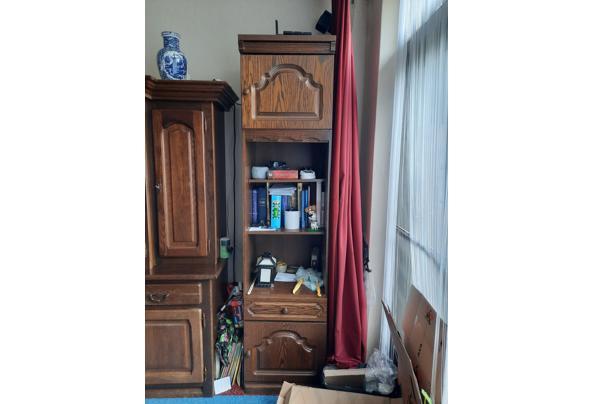 Eikenhouten Boeken kast/opbergkast - 1621956011678321957041568262908
