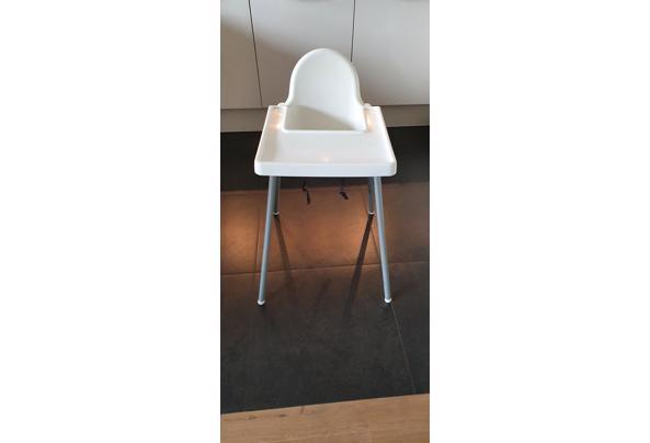 Witte IKEA kinderstoel - 20210127_122051