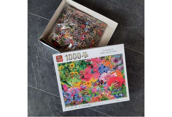Legpuzzels (1000  stukjes) - Puzzel01
