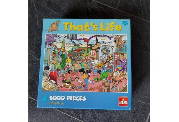 Legpuzzels (1000  stukjes) - Puzzel02