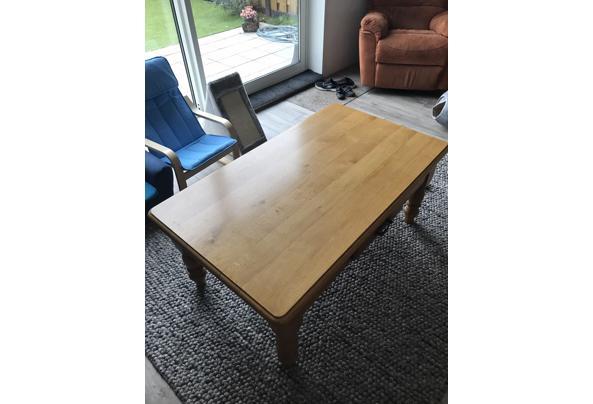 Eikenhouten tafel met lade - A54CA79C-0C78-46E2-B651-F98CD92CF74C.jpeg