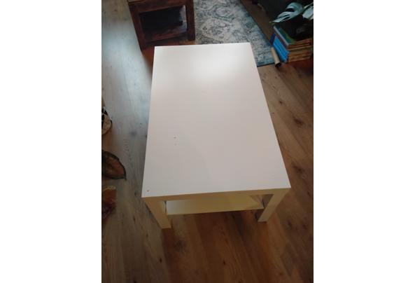 Witte IKEA salontafel - IMG20210118091137