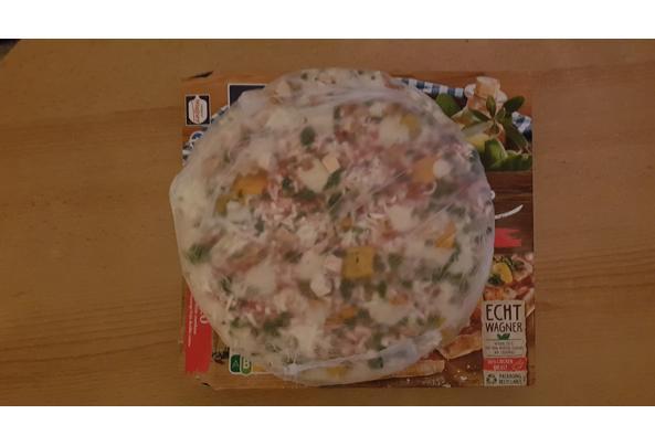 Wagner pizza pollo met roomkaas en spinazie - 20210831_205100