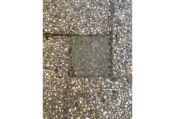 Vierkante grindtegels 20x20 - vierkant