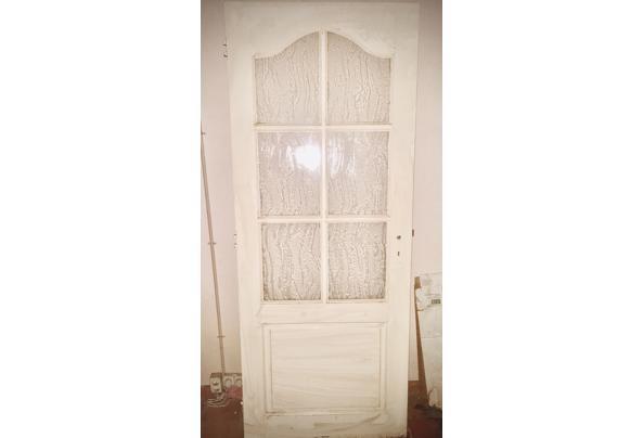 Grote witte deur met glas - IMG_5741