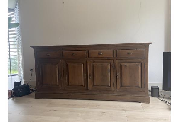 massief hardhouten dressoir met laden - IMG_2685