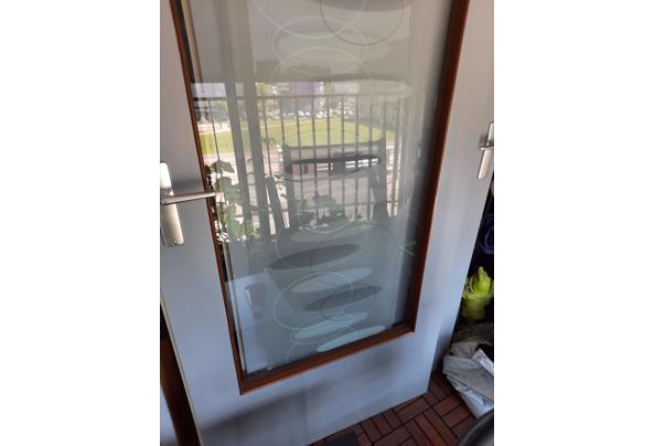 Nette binnendeur met glas - 16266064241571509319360486075145