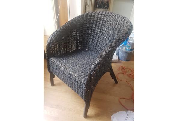 zwarte rieten stoel - Zwarte-rieten-stoel