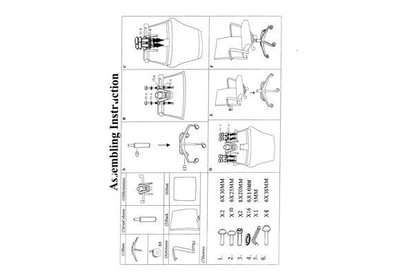 Bureaustoel - Stoel5