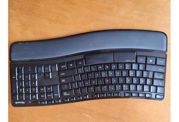 Ergonomisch draadloos toetsenbord, nieuwstaat  - 20210721_181458