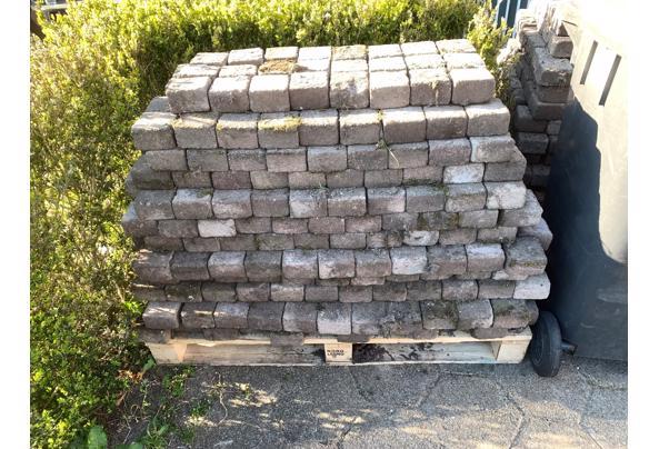 25m2 koppelstones 10x10 bont op pallets - Koppelstones