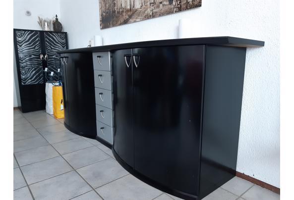 Zwarte wandkast/dressoir - 20210518_153430