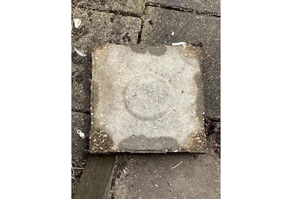 50 drainagetegels 30x30 - 757854EF-765A-4660-AC0A-FB328A8E0266