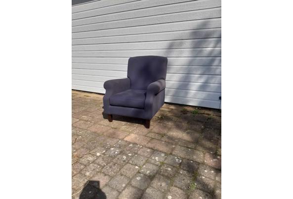 Twee blauwe landelijke fauteuils - 9AA6E610-30D2-4253-A6EB-B34DAB22A93D