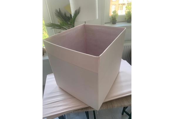 "3x Roze Opbergmand IKEA ""DRÖNA"" voor in Kallax kast - 4b633bd4-a9f5-4a69-9033-815542dff542"