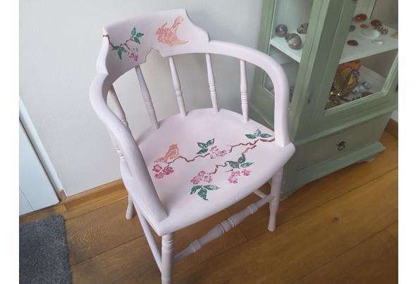 Solide gedecoreerde stoel - 20201129_145937