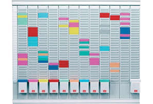 Planner/Planbord voor T-Kaarten - bord