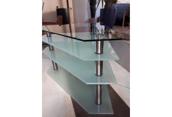 Glazen tv meubel  - 20210122_132040