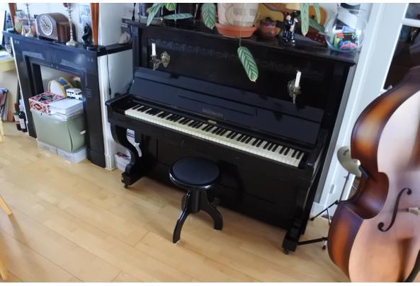 Zwarte klassieke Liebmann-piano - DSC_0493.JPG