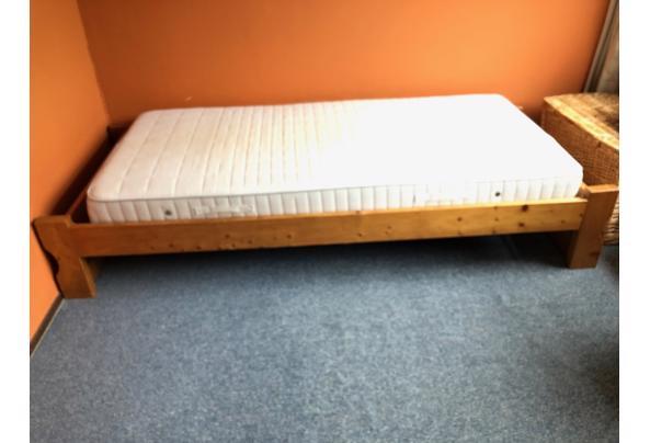 Grenen bed, 1,95 bij 90 breed. - IMG_8290