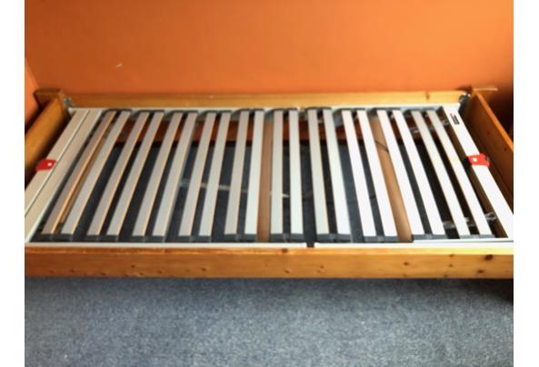 Grenen bed, 1,95 bij 90 breed. - IMG_8291
