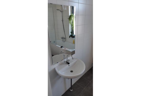 Wastafel inclusief Grohe kraan, afvoer en spiegel - IMG_20210319_100742