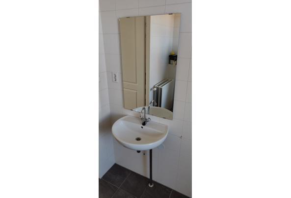 Wastafel inclusief Grohe kraan, afvoer en spiegel - IMG_20210319_100806