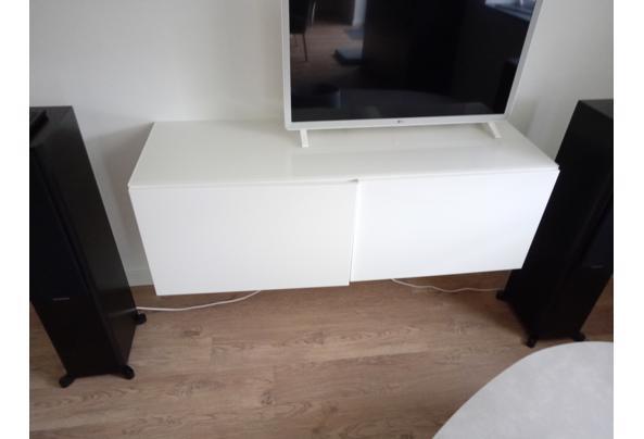 BESTA TV MEUBEL 1.20x42x38 + glazen afdekplaat - IMG_20210714_104056_365