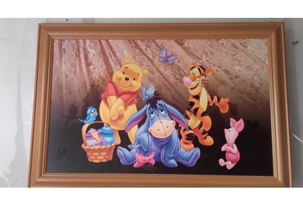 Winnie de Pooh foto op hout, incl. lijst - 20170501_143810