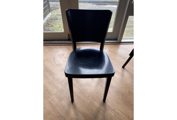 Houten Zwart stoeltjes  - IMG_8227