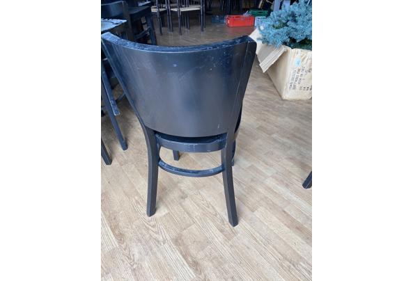 Houten Zwart stoeltjes  - IMG_8228