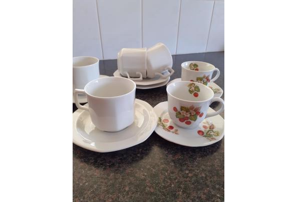 Serviesgoed  koffiekopjes en schotels - 20210514_144348