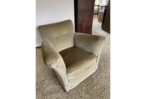 Gratis leuke fluwelen fauteuil (Bussum) - F858C996-D1BA-441A-BAF5-10897938C06D
