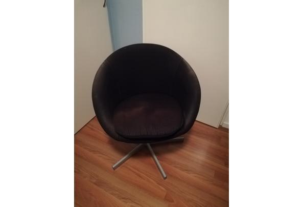 Ikea stoel zwart stof - IMG_20201122_204115