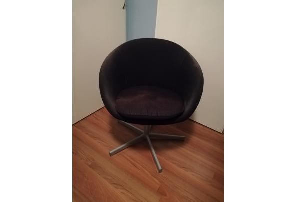 Ikea stoel zwart stof - IMG_20201122_204140