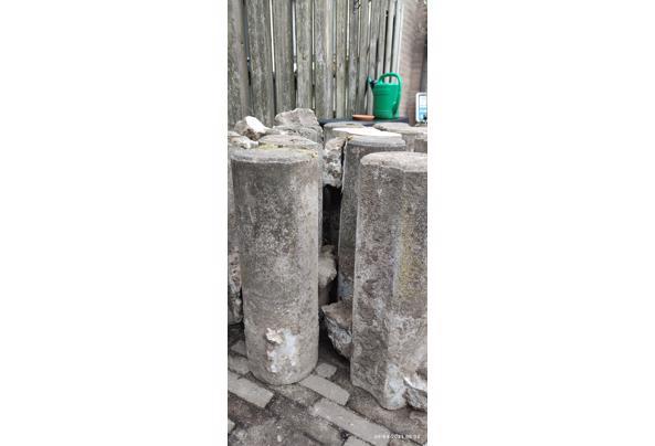 Betonnen palen ca. 20 stuks 20cm X 60cm - 1617948234738631085340735683150