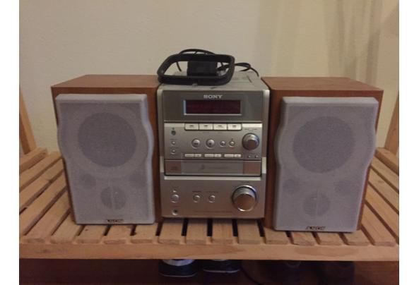 Sony stereoset Radio/CD speler - foto-1-audioset