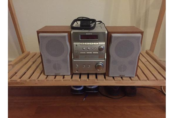 Sony stereoset Radio/CD speler - foto-2-audioset