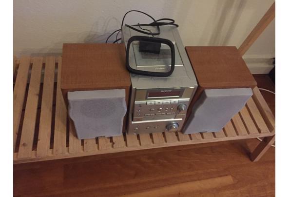 Sony stereoset Radio/CD speler - foto-3-audioset