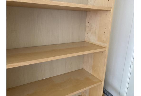 Billy Ikea boekenkast berkenfineer - 36F75CFA-06DA-473A-A0EE-956584013AE5