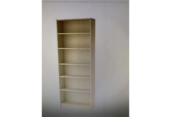 Billy Ikea boekenkast berkenfineer - 41C1C878-9F21-4573-95DC-A56833A15B6C