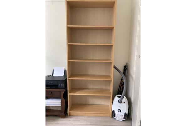 Billy Ikea boekenkast berkenfineer - A7292908-0703-43A8-9540-71B8D9E9B53D