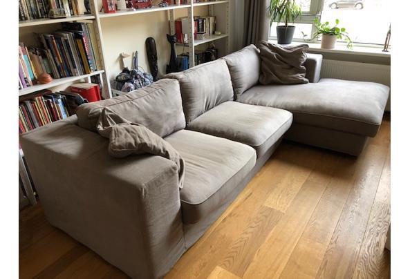 Driezits bank met lounge deel, 295x167cm - IMG_3736