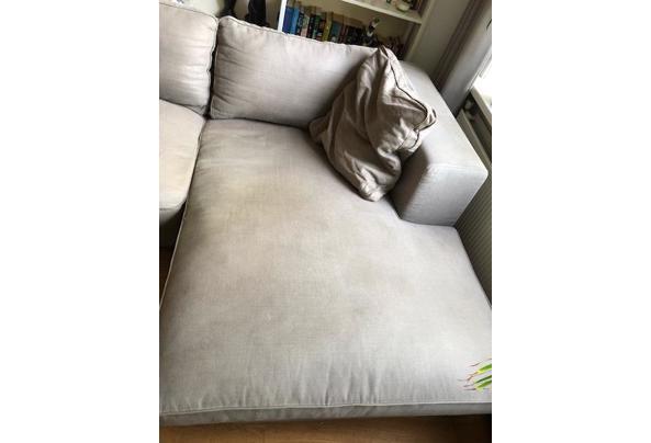 Driezits bank met lounge deel, 295x167cm - IMG_3739