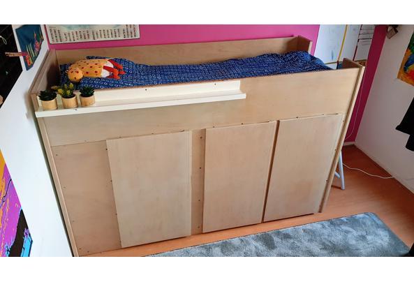 Hoogslaper met inbouwkasten + matras  - 20210117_144218