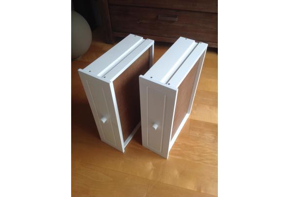 Twee laadjes van hout, wit - IMG_0974.JPG